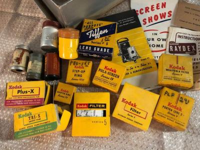 Vintage Kodak Misc. Lot - some very cool items!!!