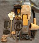 Hodge Podge Lot of Misc Vintage & Antique Trinkets and parts