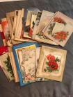 Hodge Podge Lot of Misc. Vintage/Antique Greeting Cards