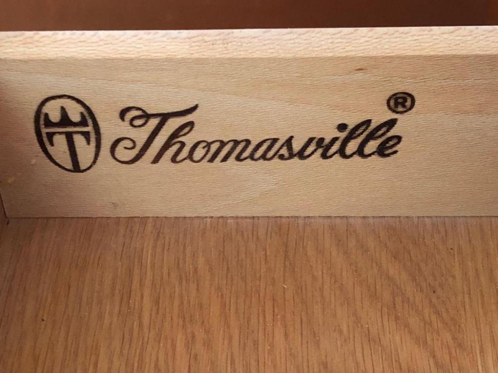 Thomasville Oak End Table