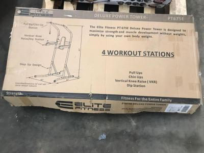 Elite Fitness Deluxe Power Tower