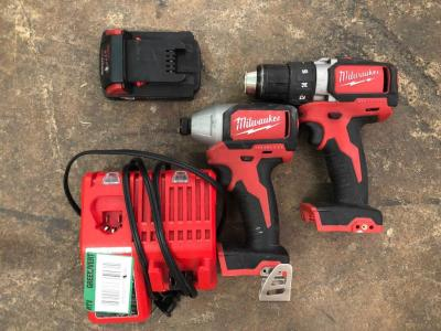 Milwaukee Impact Drill and Drill/Driver Kit