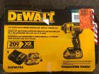 "Dewalt 1/4"" 3 Speed Brushless Impact Driver Kit"