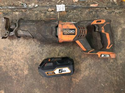 Ridgid Recipricating Saw