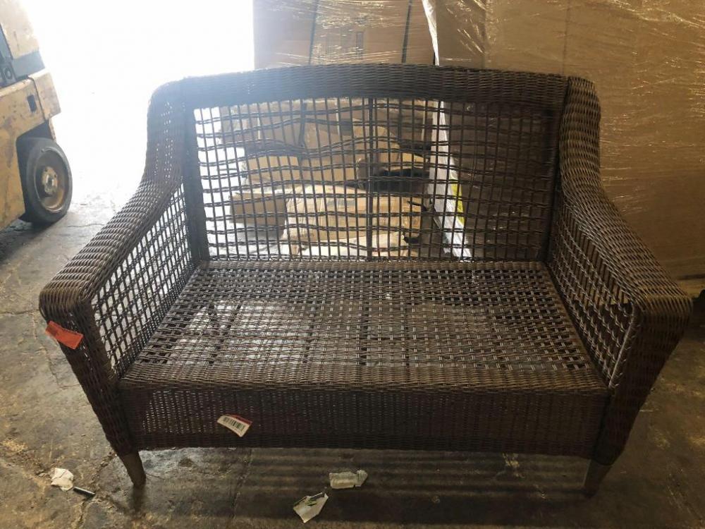 Lot 152 Of 296: Hampton Bay Outdoor Wicker Chair