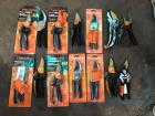 14 Fiskars Branch and Bush Trimmers