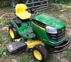 John Deere D160 Like new shows 3.2 hours