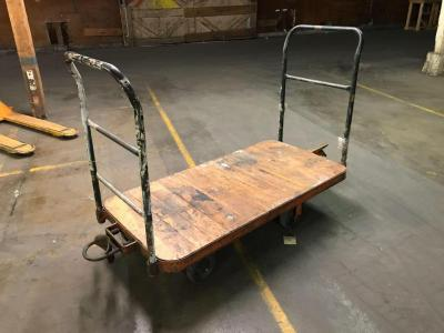 Rolling Cart with Hitches