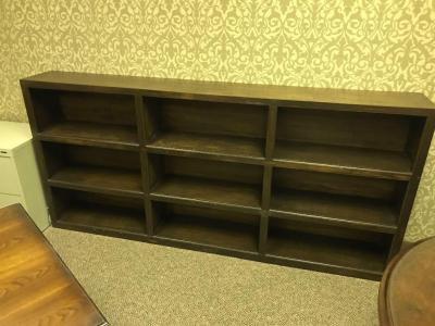 Large Decorative Wooden Shelf