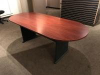 Wood Top Conference Table