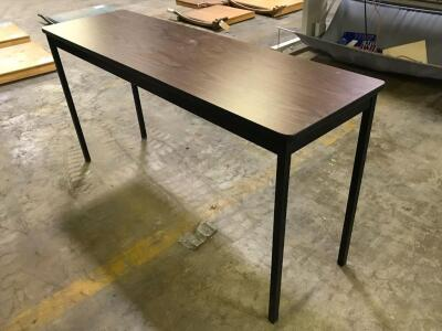 Small Metal Legged Table