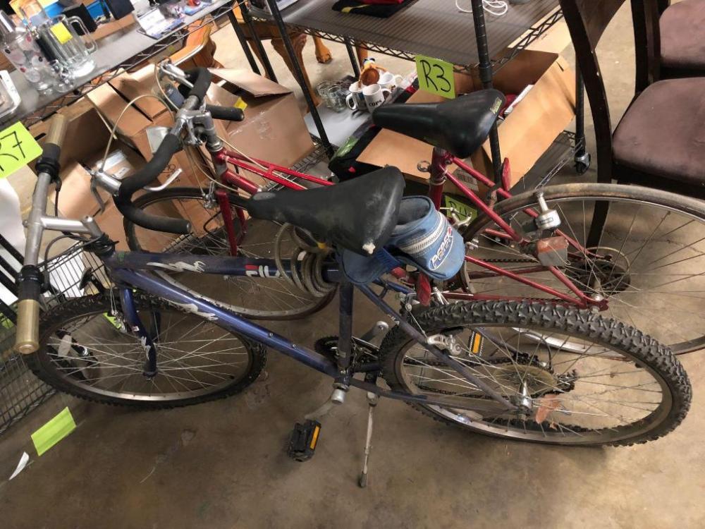 c4fcdf771bb6 Lot 132 of 168  2 Bicycles - 1 FILA mountain bike and Nishiki 10 Speed Road  Bike