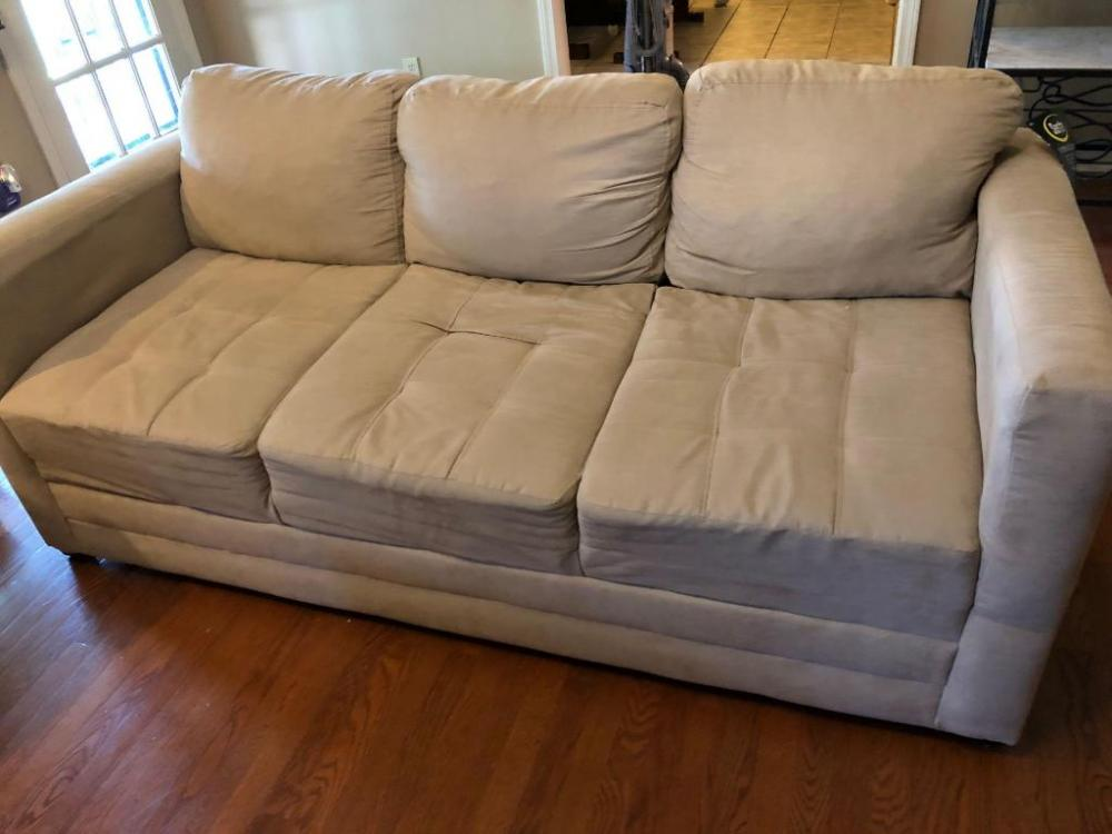 Hughes Furniture Sofa With Serra Upholstery