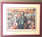 "Barry Leighton-Jones ""Jury of His Peers"" Signed Limited Edition Original Lithograph"