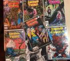 DC Comics - Swamp Thing - all in plastic sleeves in very good condition!! 1986