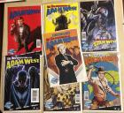 7 Mis-Adventures of Adam West Comic books in excellent condition!!