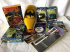 Misc Batman Lot - banana bike seat, 4 yo-yos, watch, necklace, etc..
