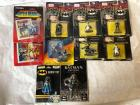 Lot of small packaged Batman Figures