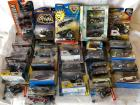 Lot of Batman Cars in original packaging