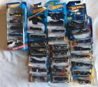 Batman Hot wheels cars (28 total)