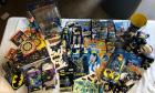 Another Misc Batman Lot - stickers, puzzles, keychains, magic towels, etc