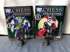 Joker and Harley Quinn Chess Pieces with Book