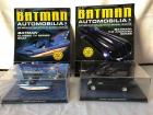 Automobilia Batman Car and Boat - vehicles, display boxes and books are in excellent condition!!