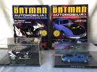 Automobilia Batman Motorcycle & Spy Car - vehicldisplay boxes and books are in excellent condition!!
