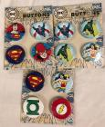 DC Comics Buttons New!