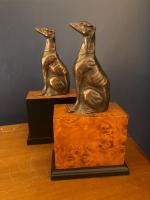 Grey Hound bookends from Springers Antiques