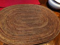 16 woven placemats