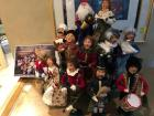 "The Buyers Choice Ltd. ""The Carolers Figurines"" ""The 12 Days of Christmas"" with wooden risers"