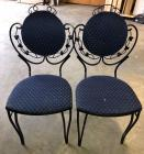 2 Heavy Metal chairs - nice condition