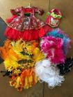Lot of Toddler Girls Costumes and Frilly Skirts - cute dress up items!!!