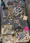 Lot of Costume Jewelry - necklaces, bracelets, earrings