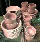 Mauve 10 place dinnerware setting